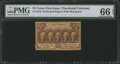 Fractional Currency:First Issue, Fr. 1279 25¢ First Issue PMG Gem Uncirculated 66 EPQ.. ...