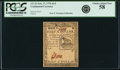Colonial Notes:Continental Congress Issues, Continental Currency May February 17, 1776 $1/2 PCGS Choice AboutNew 58.. ...