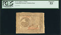Colonial Notes:Continental Congress Issues, Continental Currency April 11, 1778 $6 PCGS About New 53.. ...