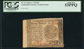 Colonial Notes:Continental Congress Issues, Continental Currency April 11, 1778 $20 PCGS About New 53PPQ.. ...