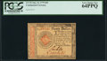 Colonial Notes:Continental Congress Issues, Continental Currency January 14, 1779 $20 PCGS Very Choice New 64PPQ.. ...