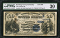 National Bank Notes:Kentucky, Bowling Green, KY - $20 1882 Date Back Fr. 555 The Citizens NB Ch.# (S)5900. ...