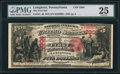 National Bank Notes:Pennsylvania, Lehighton, PA - $5 1875 Fr. 401 The First NB Ch. # 2308. ...