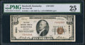 National Bank Notes:Kentucky, Bardwell, KY - $10 1929 Ty. 1 The First NB Ch. # 8331. ...