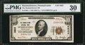 National Bank Notes:Pennsylvania, Hummelstown, PA - $10 1929 Ty. 1 The Hummelstown NB Ch. # 2822. ...
