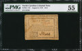 Colonial Notes:North Carolina, North Carolina August 8, 1778 $1/2 Behold! A New World PMG AboutUncirculated 55.. ...