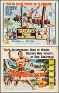 "Movie Posters:Adventure, Tarzan the Magnificent & Others Lot (Paramount, 1960). HalfSheets (3) (22"" X 28""). Adventure.. ... (Total: 3 Items)"