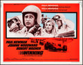 "Movie Posters:Sports, Winning (Universal, R-1973). Half Sheet (22"" X 28""). Sports.. ..."