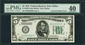 Error Notes:Inverted Reverses, Fr. 1950-K $5 1928 Inverted Reverse Federal Reserve Note. PMGExtremely Fine 40.. ...
