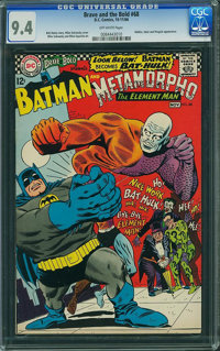 The Brave and the Bold #68 (DC, 1966) CGC NM 9.4 Off-white pages