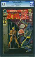 Bronze Age (1970-1979):Superhero, The Brave and the Bold #96 (DC, 1971) CGC NM- 9.2 Cream to off-white pages.