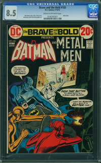 The Brave and the Bold #103 (DC, 1972) CGC VF+ 8.5 Cream to off-white pages