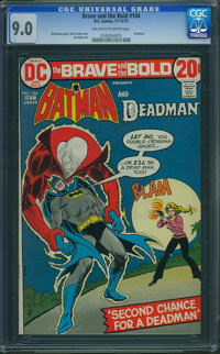 The Brave and the Bold #104 (DC, 1972) CGC VF/NM 9.0 Off-white to white pages