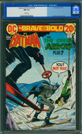 Bronze Age (1970-1979):Superhero, The Brave and the Bold #106 (DC, 1973) CGC NM 9.4 White pages.