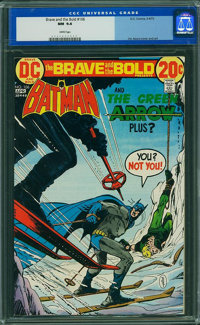 The Brave and the Bold #106 (DC, 1973) CGC NM 9.4 White pages
