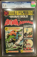 Bronze Age (1970-1979):Superhero, The Brave and the Bold #114 (DC, 1974) CGC VF- 7.5 White pages.