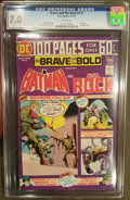 Bronze Age (1970-1979):Superhero, The Brave and the Bold #117 (DC) CGC FN/VF 7.0 White pages.