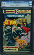 Bronze Age (1970-1979):Superhero, The Brave and the Bold #121 (DC, 1975) CGC NM- 9.2 White pages.