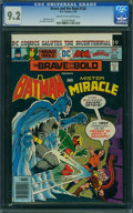 Bronze Age (1970-1979):Superhero, The Brave and the Bold #128 (DC, 1976) CGC NM- 9.2 Cream to off-white pages.
