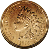 1858 P1C Indian Cent, Judd-208, Pollock-254, PR63 NGC. Snow-PT35, R.7. There are four notable subvarieties of Judd-208;...