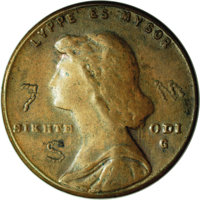 Undated (ca. 1967) P1C General Motors Pattern Cent, Pollock-4060, R.5. MS64 Brown NGC. An experimental striking on the G...