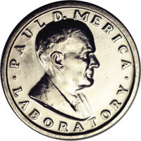 1964 P25C International Nickel Company Quarter Dollar, Pollock-5365, R.6 (?), MS63 NGC. An apparent second example of th...