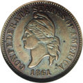 Confederate States of America: , 1861 1C Confederate States of America Restrike PR62 Brown NGC. Breen-8008. Restrike C.S.A. Cents were offered by Capt. John...