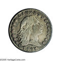 Early Half Dimes: , 1794 H10C --Bent, Improperly Cleaned--NCS. VF Details. V-1, LM-1,R.6. Reiver state a. Early die state for this variety, wit...