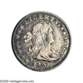 Early Half Dimes: , 1797 H10C V-2, LM-1, R.3. Reiver state a. 15 Stars XF45 NGC. Strongeye appeal for the lighter silver centers which are off...