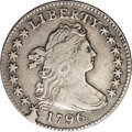 Early Dimes: , 1796 10C JR-1, R.3.--Reverse Damage--NCS. XF Details. The JR-1variety is instantly recognized by the die break joined to s...