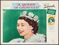 """Movie Posters:Documentary, A Queen is Crowned (Rank, 1953). Lobby Card (11"""" X 14""""). Documentary.. ..."""