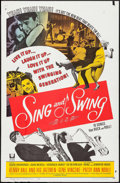 "Movie Posters:Musical, Sing and Swing & Other Lot (Universal, 1963). One Sheet (27"" X 41"") & Lobby Card Set of 8 (11"" X 14""). Musical.. ... (Total: 9 Items)"