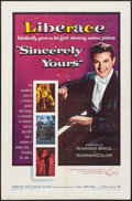 "Movie Posters:Drama, Sincerely Yours (Warner Brothers, 1955). One Sheet (27"" X 41"")& Lobby Card Set of 8 (11"" X 14""). Drama.. ... (Total: 9 Items)"