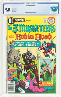 DC Special #23 The 3 Musketeers and Robin Hood (DC, 1976) CBCS NM/MT 9.8 White pages
