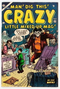 Crazy #4 (Atlas, 1954) Condition: VF