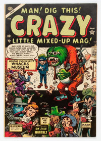 Crazy #3 (Atlas, 1954) Condition: VF+