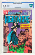 Bronze Age (1970-1979):Horror, Doorway to Nightmare #4 (DC, 1978) CBCS NM/MT 9.8 Off-white towhite pages....