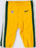 Football Collectibles:Uniforms, Circa 2015 Green Bay Packers Game Issued Pants. ...
