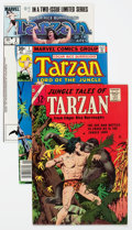 Bronze Age (1970-1979):Adventure, Tarzan-Related Group of 55 (Various Publishers, 1960s-90s).... (Total: 55 Comic Books)