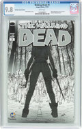 Modern Age (1980-Present):Horror, The Walking Dead #1 Wizard World Reno Sketch Edition (Image, 2015)CGC NM/MT 9.8 White pages....