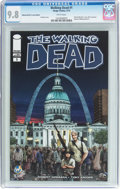 Modern Age (1980-Present):Horror, The Walking Dead #1 Wizard World St. Louis Edition (Image, 2015)CGC NM/MT 9.8 White pages....