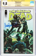 Modern Age (1980-Present):Horror, The Walking Dead #1 Wizard World Nashville Edition - SignatureSeries (Image, 2013) CGC NM/MT 9.8 White pages....