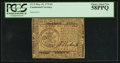 Colonial Notes:Continental Congress Issues, Continental Currency May 10, 1775 $5 PCGS Choice About New 58PPQ.....
