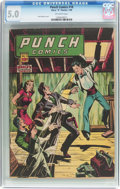 Golden Age (1938-1955):Crime, Punch Comics #18 (Chesler, 1946) CGC VG/FN 5.0 Off-white pages....