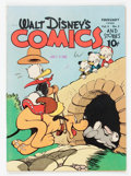 Golden Age (1938-1955):Cartoon Character, Walt Disney's Comics and Stories #53 (Dell, 1945) Condition: FN....