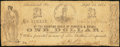 Obsoletes By State:Virginia, Richmond, VA- Counting House of Bowcock & Brown $1 Sep. 25, 1861. Jones PR60-127. ...