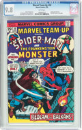 Bronze Age (1970-1979):Superhero, Marvel Team-Up #36 Spider-Man and the Frankenstein Monster (Marvel, 1975) CGC NM/MT 9.8 White pages....