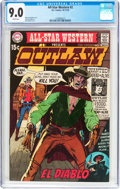 Bronze Age (1970-1979):Western, All-Star Western #2 (DC, 1970) CGC VF/NM 9.0 White pages....