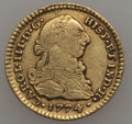 Colombia, Colombia: Charles III gold Escudo 1774 P-JS About VF,...