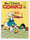 Golden Age (1938-1955):Cartoon Character, Walt Disney's Comics and Stories #70 (Dell, 1946) Condition:VF-....
